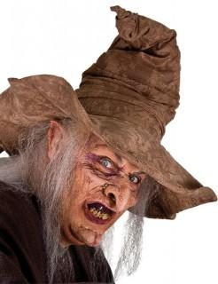 Halbmasken-Set Hexe Halloween bunt