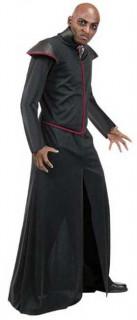 Vampir Robe Halloween-Mantel schwarz-rot
