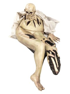 Kaiserschnitt Horror Halloween-Dekoration bunt 122cm