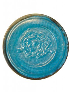 Aqua-Schminke Eulenspiegel Perlglanz türkis 3,5ml