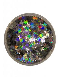 Streuglitzer Silbersterne silber 2g