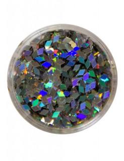 Streuglitzer Diamanten silber 2g