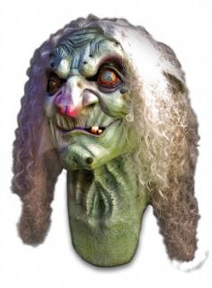 Hexenmaske für Erwachsene bunt
