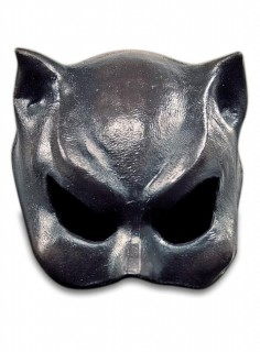 Katzenfrau Maske Halloween grau