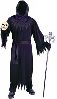 Phantom Geist Halloween-Herrenkostüm schwarz