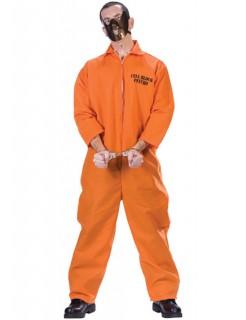 Psychiatrie-Insasse Halloween-Kostüm orangefarben