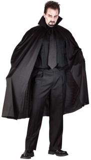 Vampir-Umhang Halloween-Accessoire schwarz 100cm