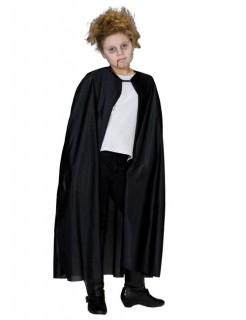 Vampir-Umhang für Kinder schwarz