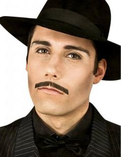 Gangster-Schnurrbart schwarz