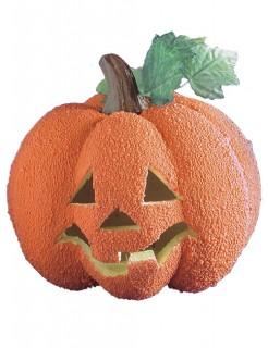 Leuchtender Kürbis Halloween Party-Deko orange-grün 23cm