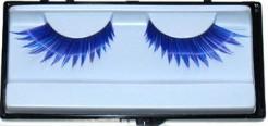Wimpern gezackt blau-lila