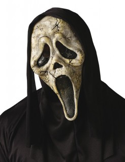 Ghost Face-Maske Scream beige-schwarz