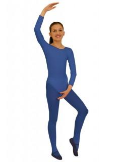 Kinder-Body langarm blau