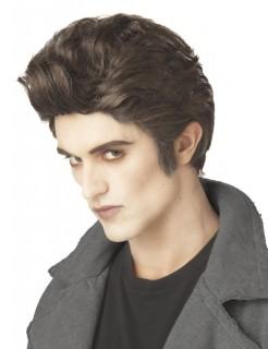 Gentleman Vampir Perücke braun