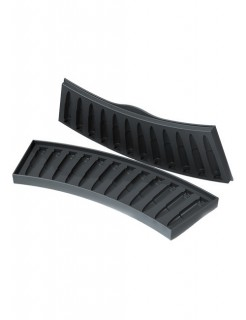 Eiswürfelform AK-47 Party-Zubehör schwarz 8x18cm
