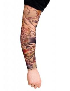 Tattoo Ärmel Dragon Master bunt