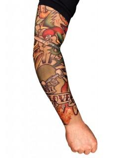 Tattoo-Ärmel Skater bunt