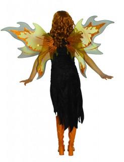 Feen Flügel Halloween blinkend orange