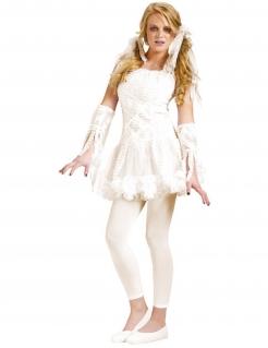 Mumien Tutu Lady Halloween Teen Kostüm weiss