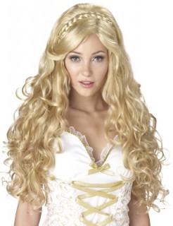 Antike Göttin Perücke blond mit Locken