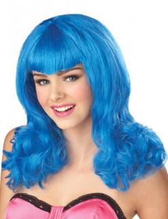 Märchen Lolita Perücke blau