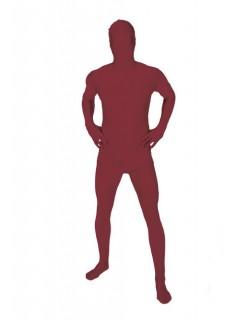 Morphsuit Ganzkörper-Kostüm rotbraun
