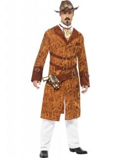 Wildwest-Kostüm für Herren Steampunk braun