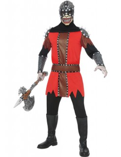 Henker Halloween-Kostüm schwarz-rot