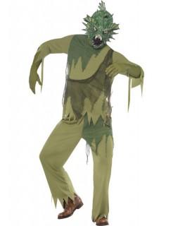 Seeungeheuer-Kostüm Halloween grün