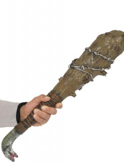 Knüppel Keule Halloween-Waffe braun-silber 58cm