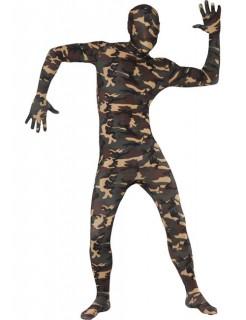 Second-Skin-Suit Ganzkörperanzug camouflage