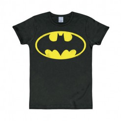 DC Batman Logo T-Shirt Slim Fit schwarz