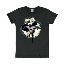 Batman T-Shirt DC Full Moon Slim Fit schwarz