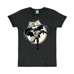 Batman T-Shirt DC Full Moon Slim Fit schwarz