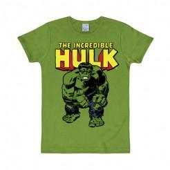 Marvel™-T-Shirt Hulk Slim Fit Fanshirt grün-gelb