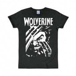 Marvel Wolverine T-Shirt Slim Fit schwarz