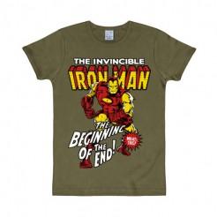 Iron Man Lizenz-T-Shirt Slim Fit bunt