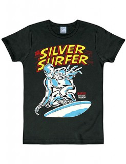 Silver Surfer Slim Fit T-Shirt Lizenzware bunt