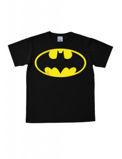 DC Comics Batman T-Shirt Logo Easy Fit Lizenzware schwarz-gelb