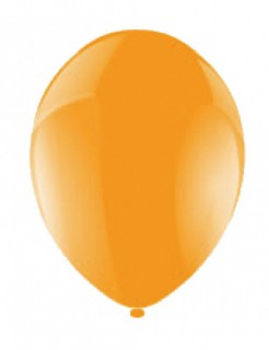 Ballon-Set Partydeko 50 Stück orange 27,5cm