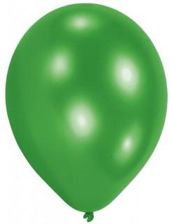 Partyballons Luftballons 10 Stück grün 75cm