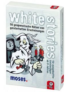 White Stories - 50 Geisterhafte Rätsel bunt 9x13cm