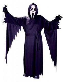 Scream Halloween Kostüm schwarz-weiss