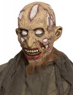 Zombie Halloween Maske beige