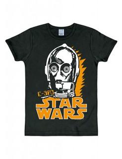 Star Wars C-3PO T-Shirt Slimfit schwarz
