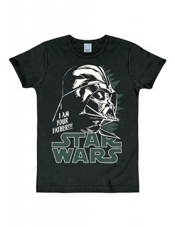 Star Wars Darth Vader T-Shirt Slimfit schwarz