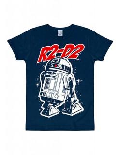 Star Wars R2-D2 T-Shirt Slimfit blau