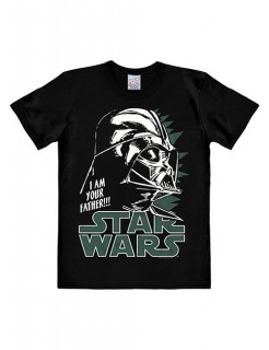 Star Wars T-Shirt Darth Vader Easy Fit Lizenzware schwarz-olivgrün-grau