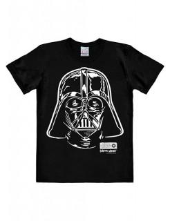 Star Wars Darth Vader Portrait T-Shirt Easyfit Lizenzware schwarz-weiss