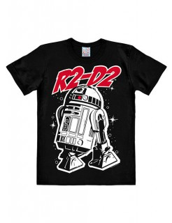 Star Wars R2-D2 T-Shirt Easyfit schwarz